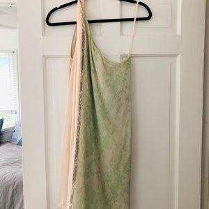 Diane Von Furstenberg Silk Liluye Short Dress